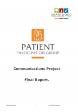 Communications Project Report