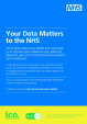 Your Data Matters Patient Leaflet